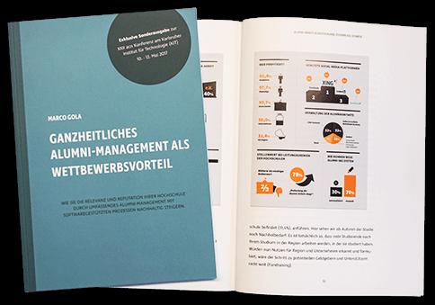 Buch: Ganzheitliches ALUMNI-Management als Wettbewerbsvorteil