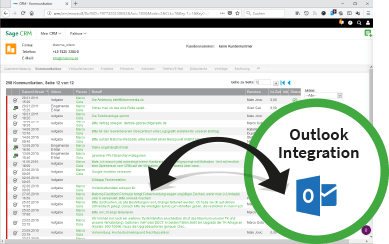 Outlook Integration in CRM