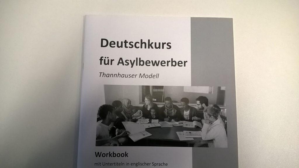 Hefte für den Deutschkurs von Asylbewerber