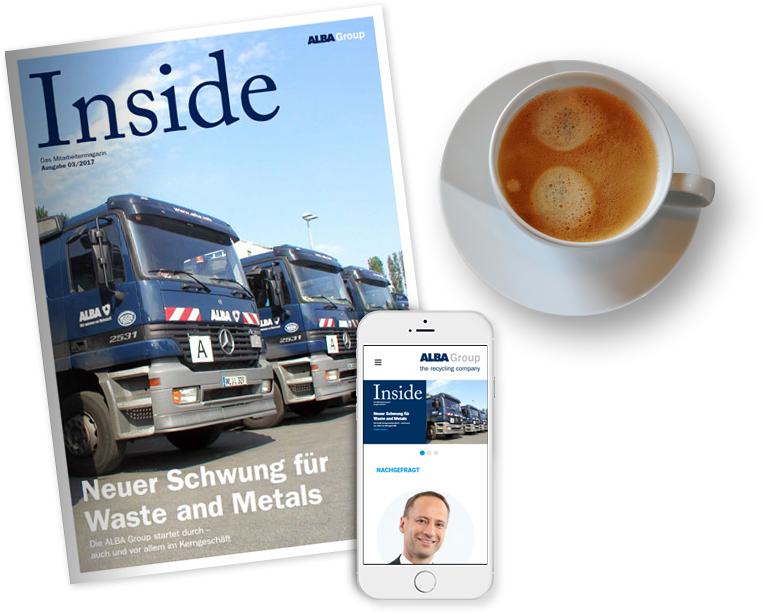 Alba Group Inside Magazin und App
