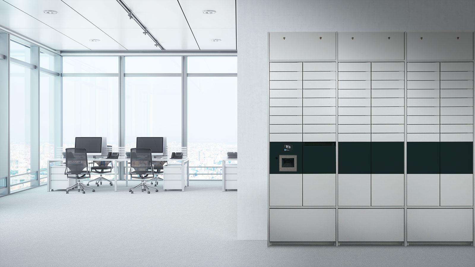 Dynamische Postverteilung in Ihrem Büro