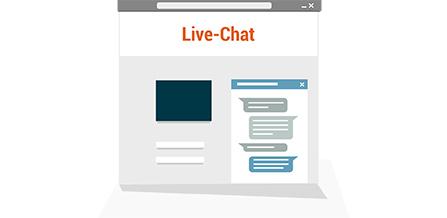 Symbol Live-Chat-Modul